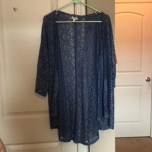 LuLuRoe lace cardigan